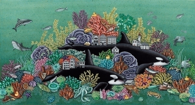 Wolves Seaas Orca whales called - brandymasch | ello