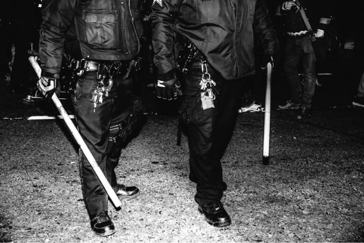coming apocalypse. police state - daniel_mcknight   ello