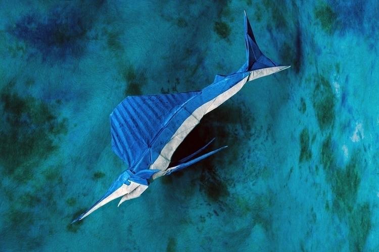 Dolphinitely Origami Sea Creatu - origamidotme | ello