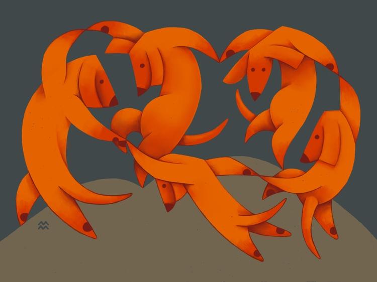 83/100 La danse $20 prints Etsy - miriamdraws | ello