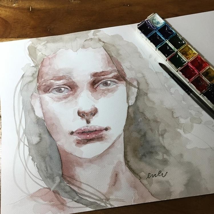strongest souls break cry - watercolor - wissypuff | ello