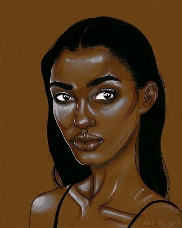 Ojo Agi Amina, Daughters Diaspo - blackartmatters | ello