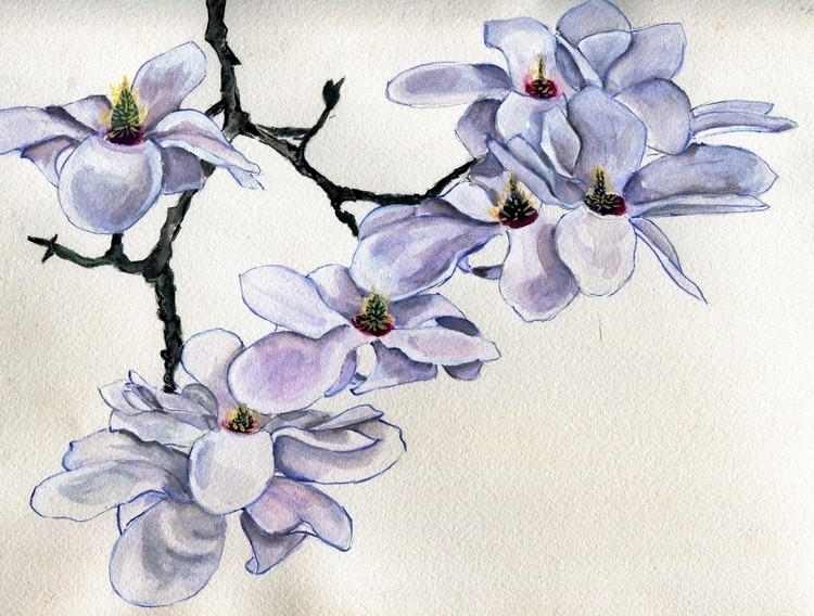 Perch Watercolor, Gouache Chine - havekat | ello