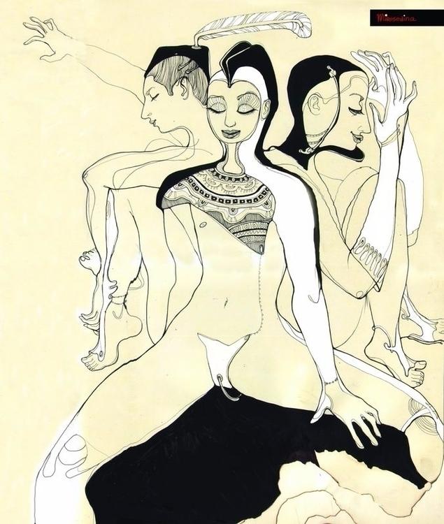 3 Man - graphis, mirosedina, artist - mirosedina | ello