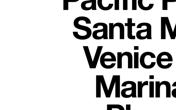 OP-P049 Los Angeles Beach Towns - orangeandpark | ello