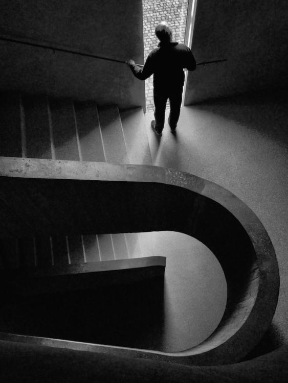 Staircase / Duisburg Feb. 2017 - georgie_pauwels | ello