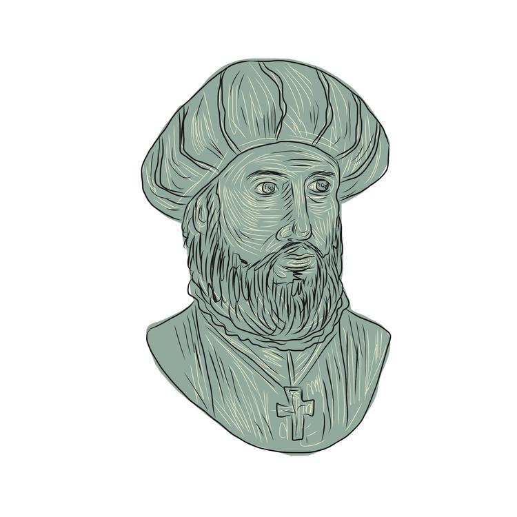 da Gama - Vasco, Explorer, Bust - patrimonio | ello