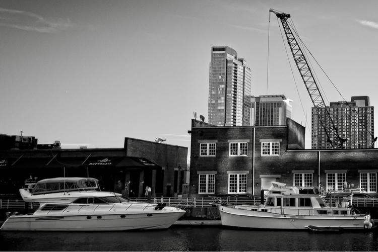 Boats docked Jersey City - travel - nikonkenny | ello