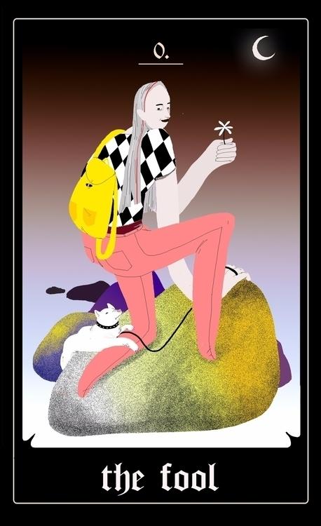 cards fool gif - tarot, animated - lilikorcsok | ello