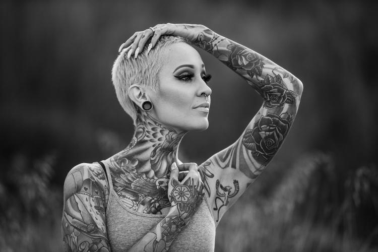 Dana - portrait, blackandwhite - ben-staley | ello