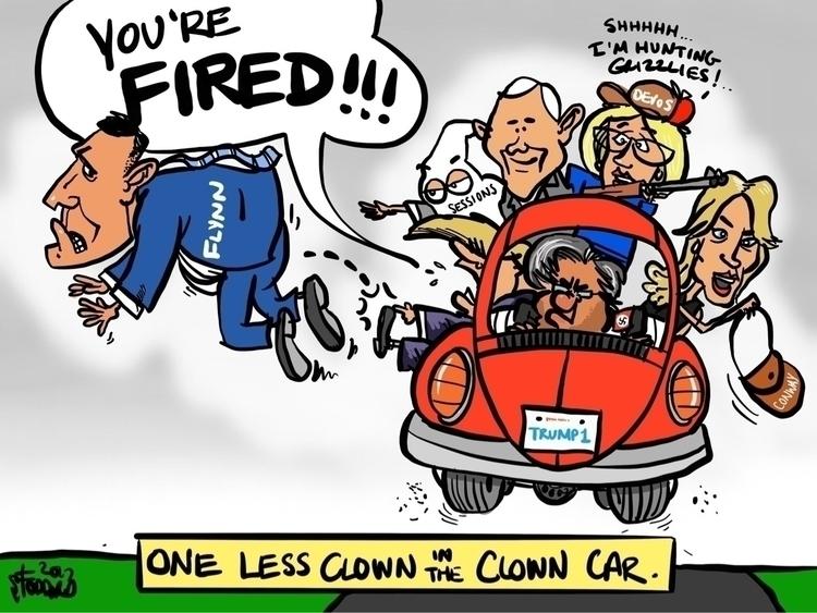 Clown - illustration,, editorial, - sstoddard | ello