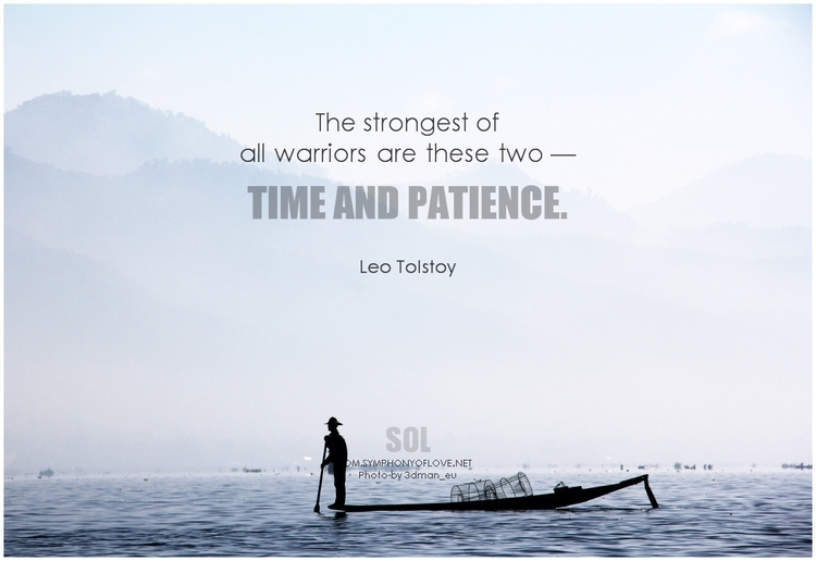 picture quotes Patience Timing  - symphonyoflove | ello