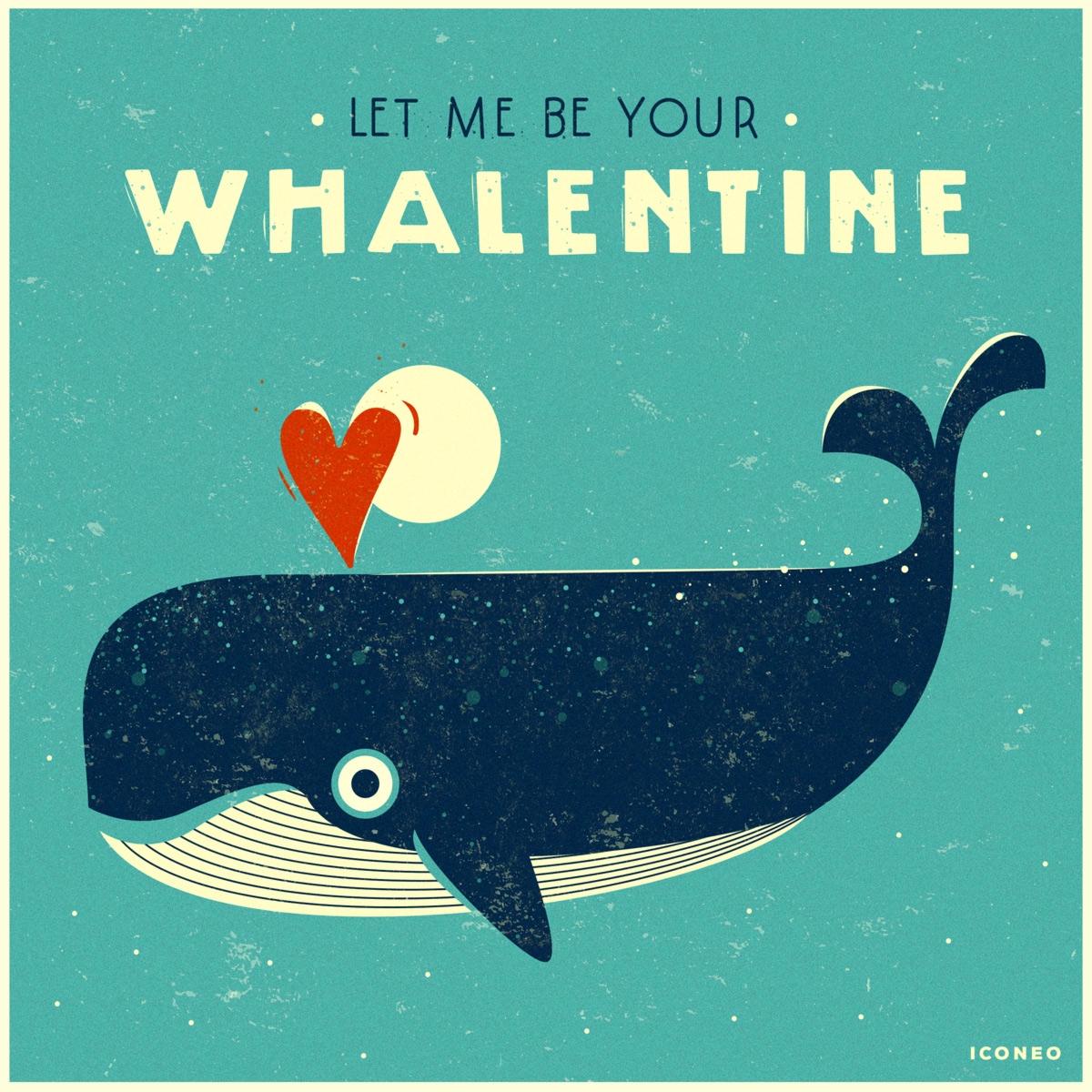 le whalentine - valentinesday, happyvalentinesday - iconeo | ello