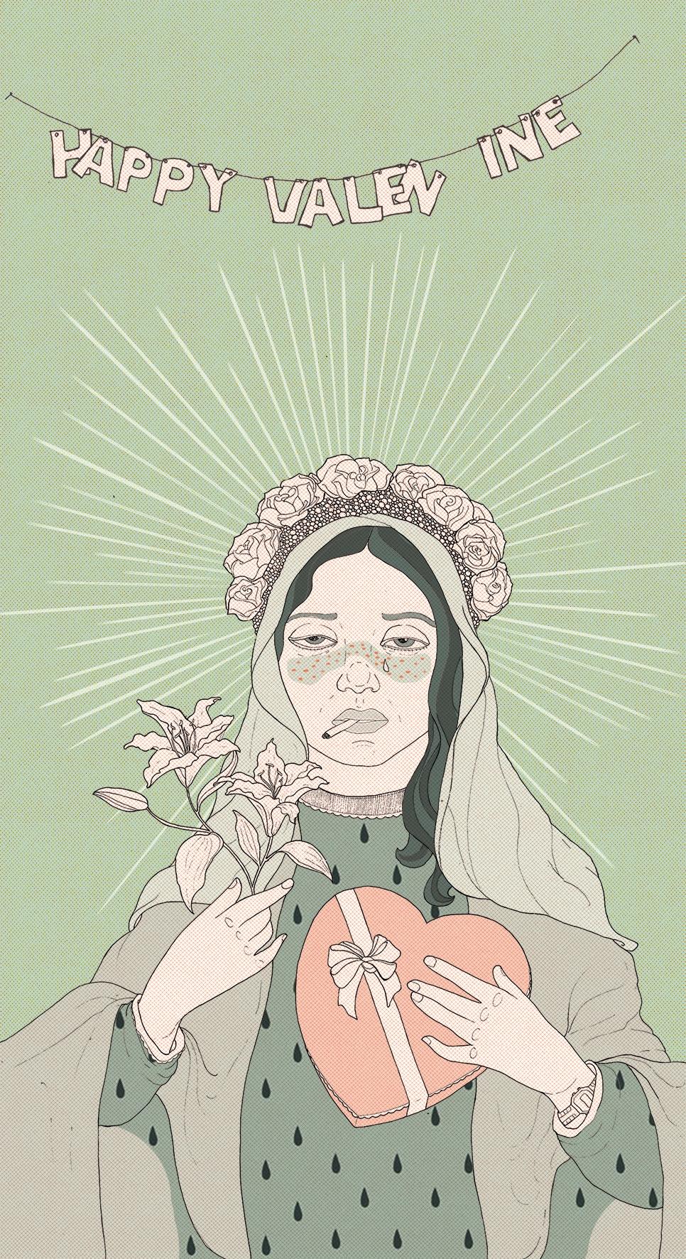 > valentine. 2017 - minttu_ | ello