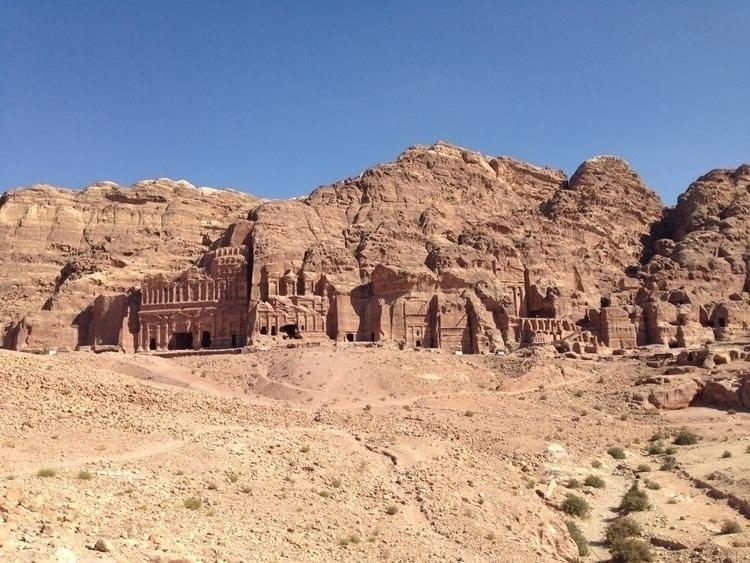 Nabataeans city - Petra - jordan - andykarpy | ello