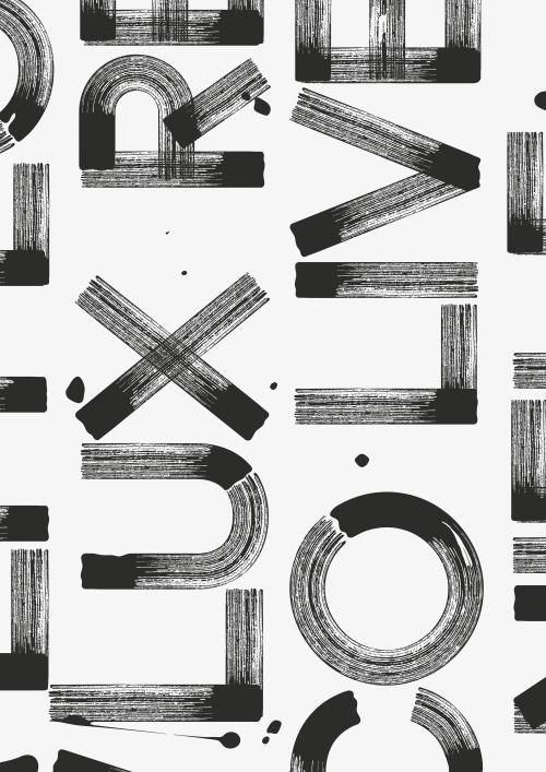 Jan Horcik poster, Graphic Desi - ellotypography | ello