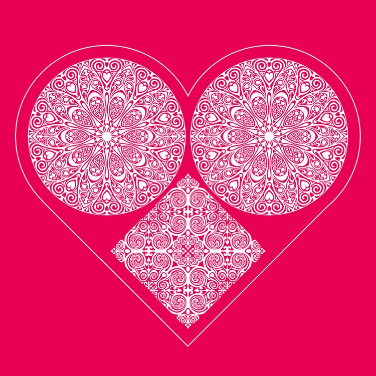 Nº 26. Happy Day - heart, valentine - csilverman | ello