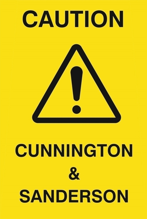 CAUTION - Fall Winter 17/18 Col - cunningtonandsanderson | ello