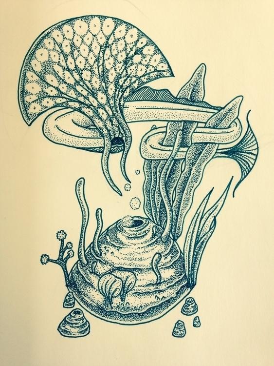 feel fish, lost sea bed inspira - tensei   ello