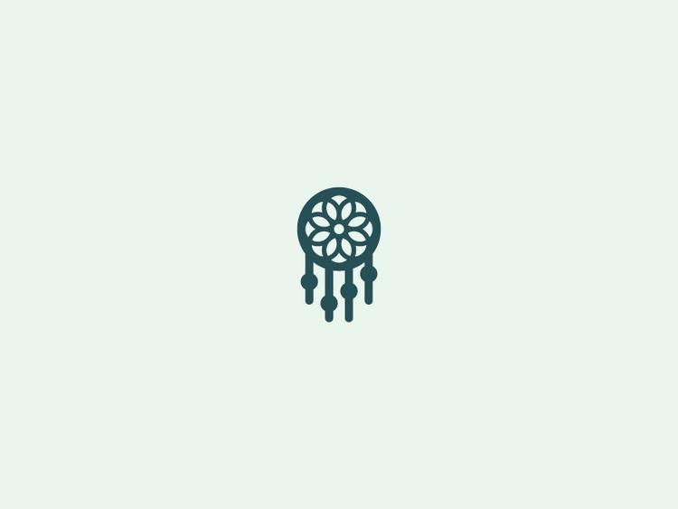 Minimalist Dreamcatcher (01/365 - darumacreative | ello