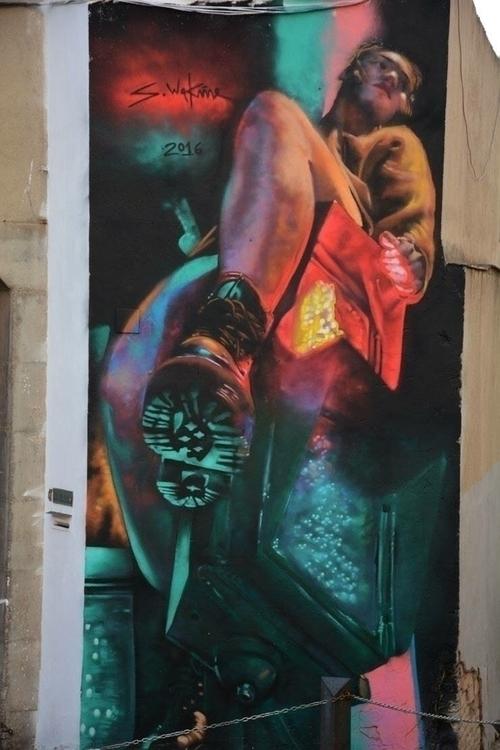 Artist: Sebastien Waknine Locat - streetartunitedstates | ello