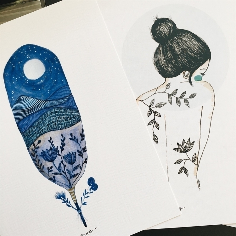 Prints Etsy shop - artprints, illustration - nwpb | ello