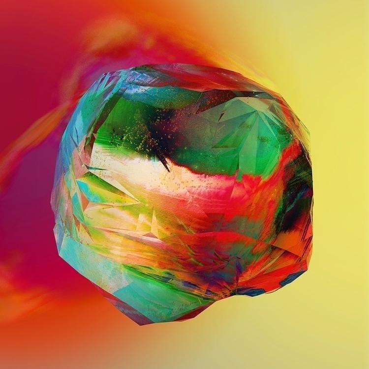 Gemstone multi colour - illustration - chriskeegan | ello
