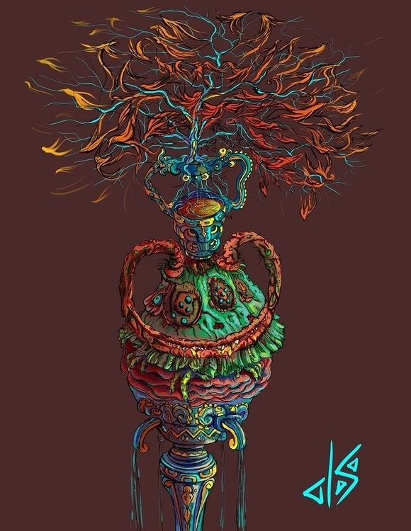 Roots - art, Illustration, DigitalArt - dsac | ello