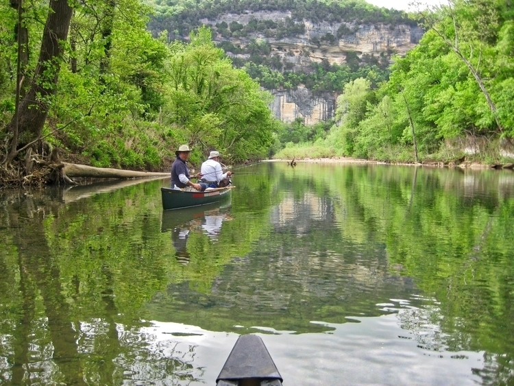 day river - buffalonationalriver - kanza_traveler | ello