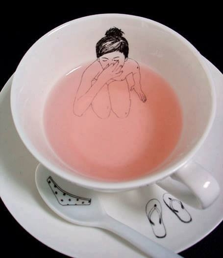 girl tea set Esther Horchner - Bathing - lolosbri | ello