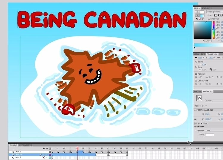 drawing today - clipart, canada - theanimatedwoman | ello
