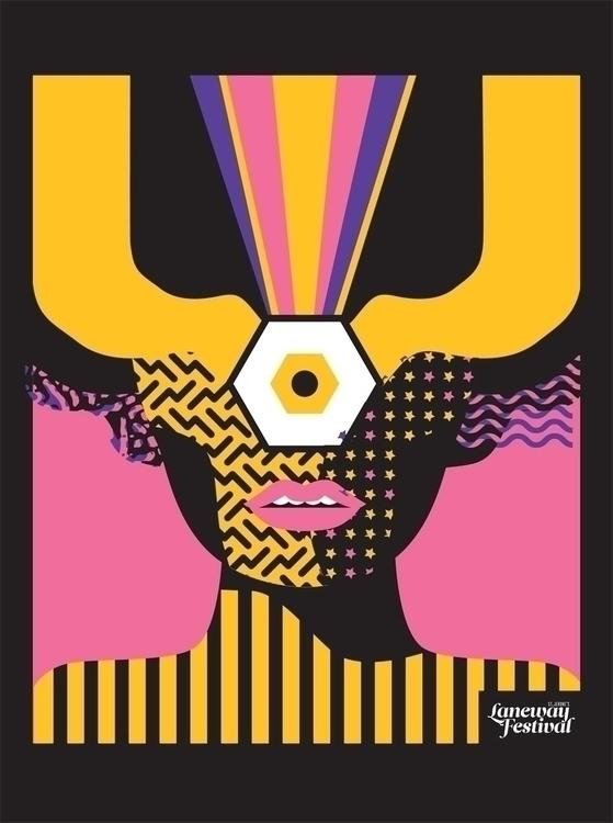 Key art Laneway Festival - webuyyourkids | ello