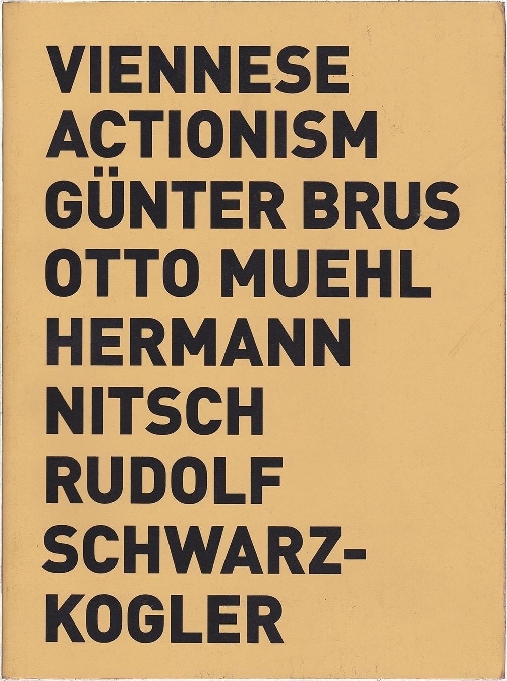 Viennese Actionism. Günter Brus - modernism_is_crap | ello