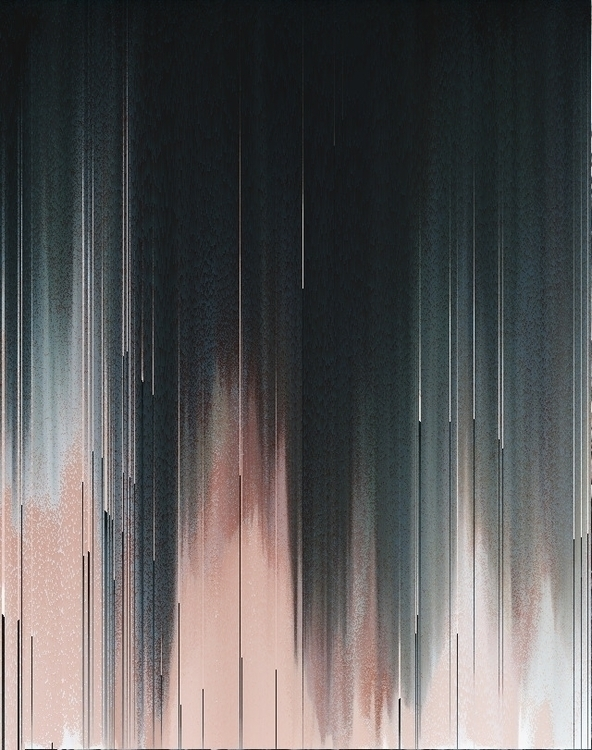 Melting - glitch, art, digital, pixelsort - gaalo | ello
