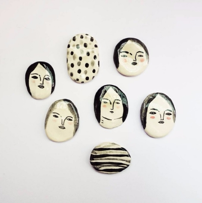 Adorable ceramic characters Car - sandraapperloo | ello