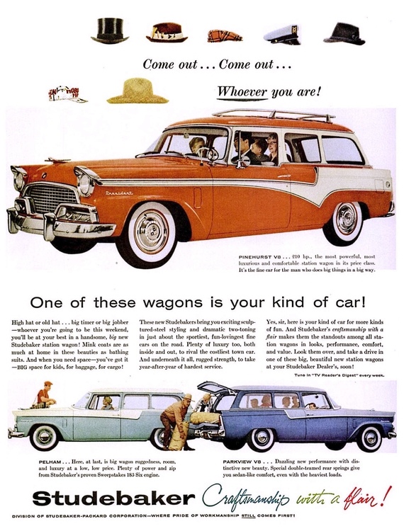 Craftsmanship Flair! 1956 Stude - kohoso   ello