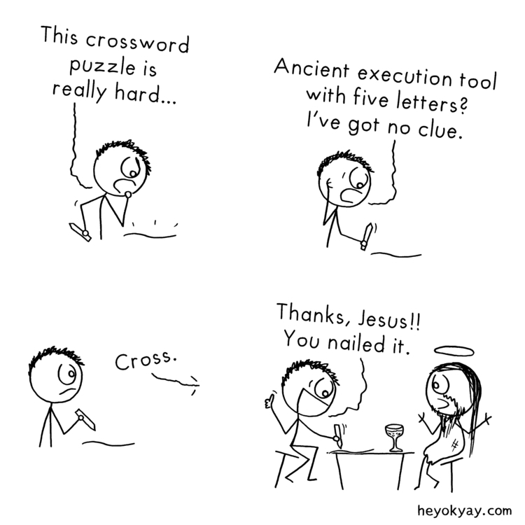 Crossword puzzle | - crossword, jesus - heyokyay | ello