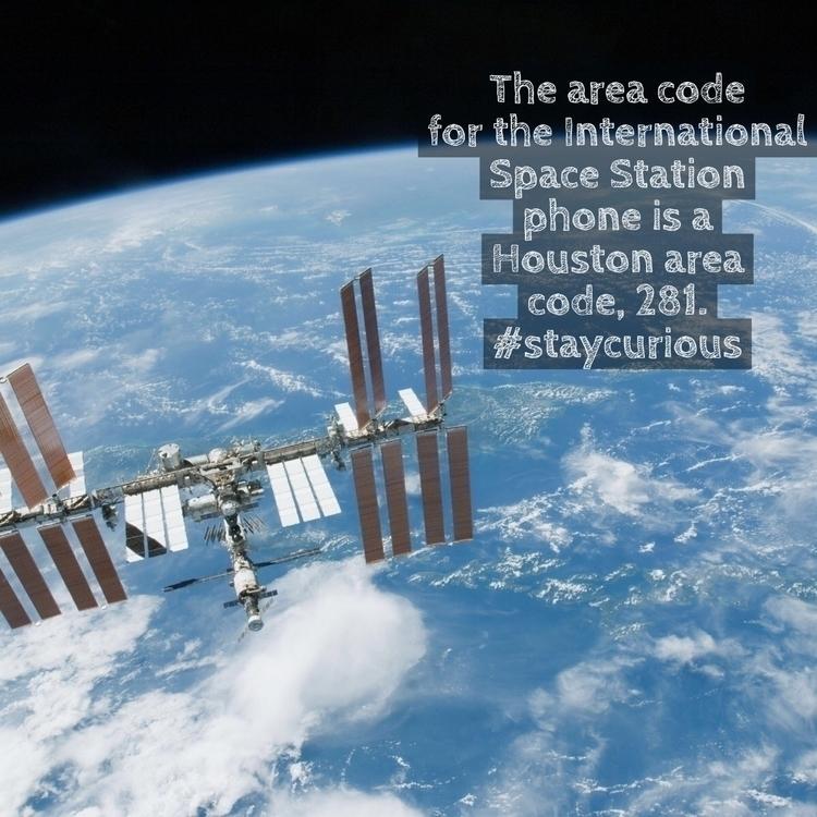 area code International Space S - curionic | ello