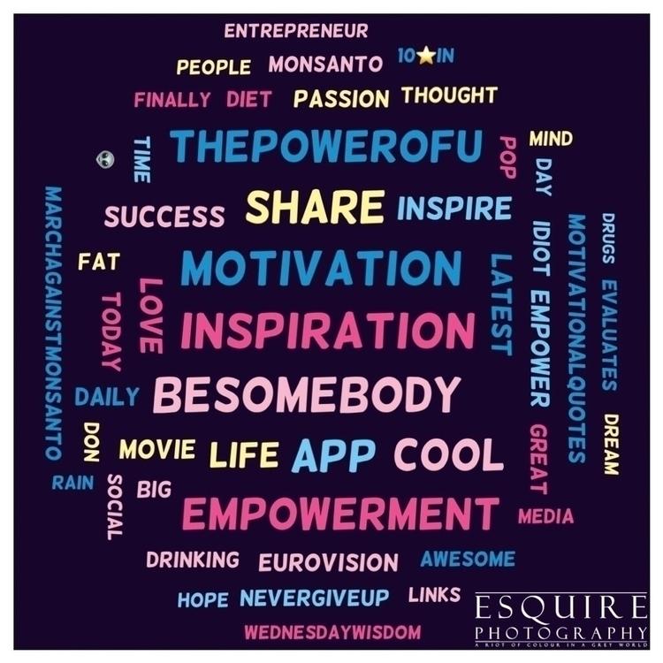 world - BeSomebody, Goals, Positivity - esquirephotography | ello