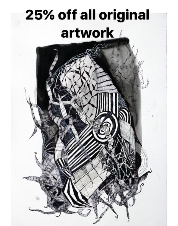 25% original artwork website - melissamonroeart | ello