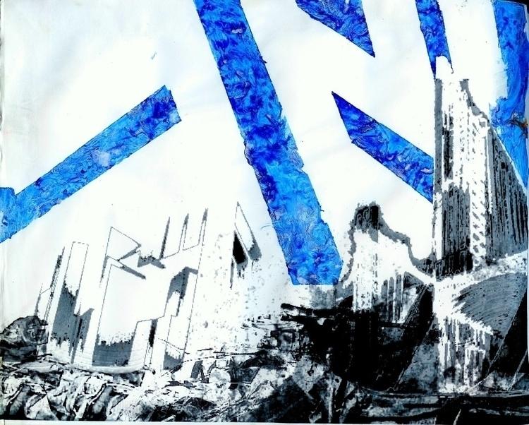 'baghdad war' ~2003 - art - jio_and_her_rags | ello
