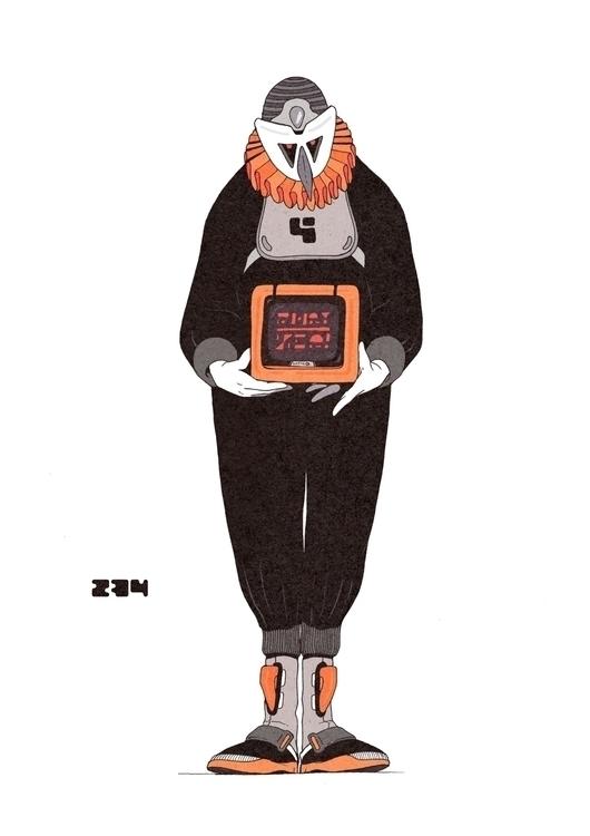 Day 234/365: TV - illustration, drawing - 1sles | ello