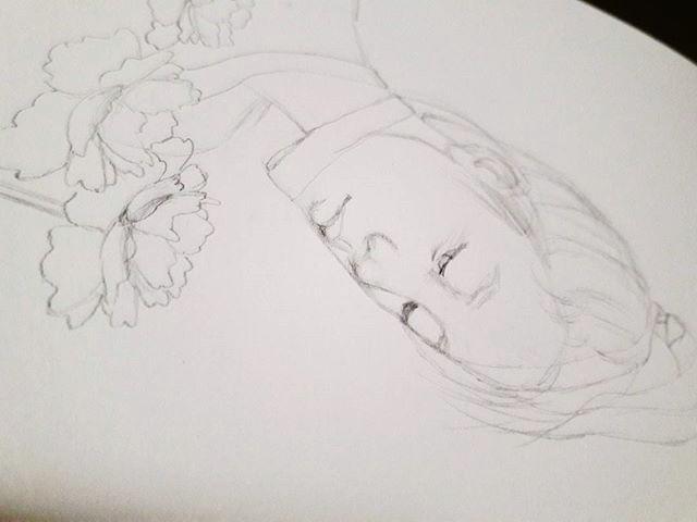 Sketch process - sketch, workinprogress - j0eyg1rl | ello