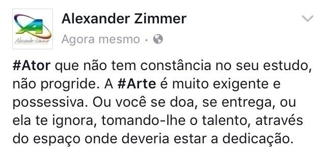 - ator, atriz, artista, tv, novela - alexanderzimmer | ello