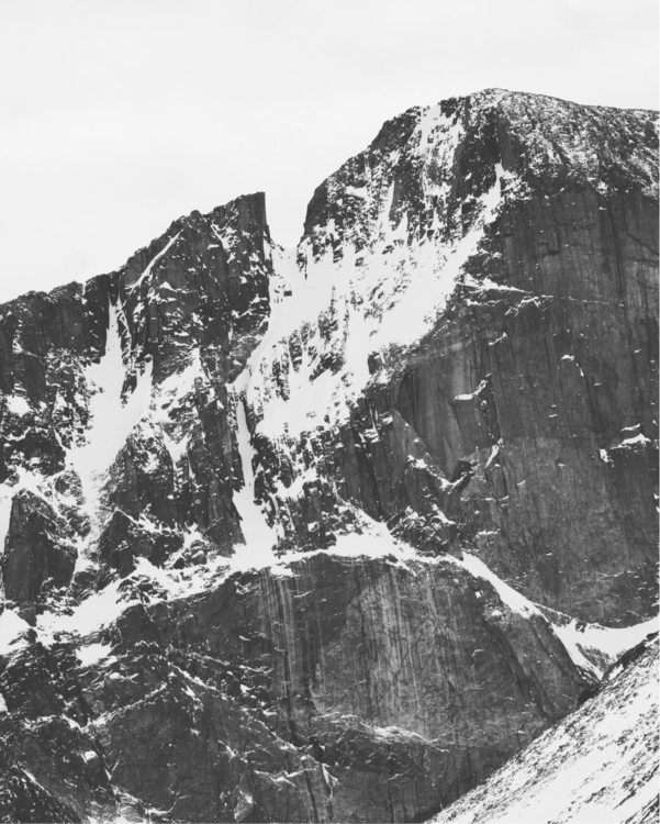 Notch Couloir, Longs Peak, IV D - thomaswoodson | ello