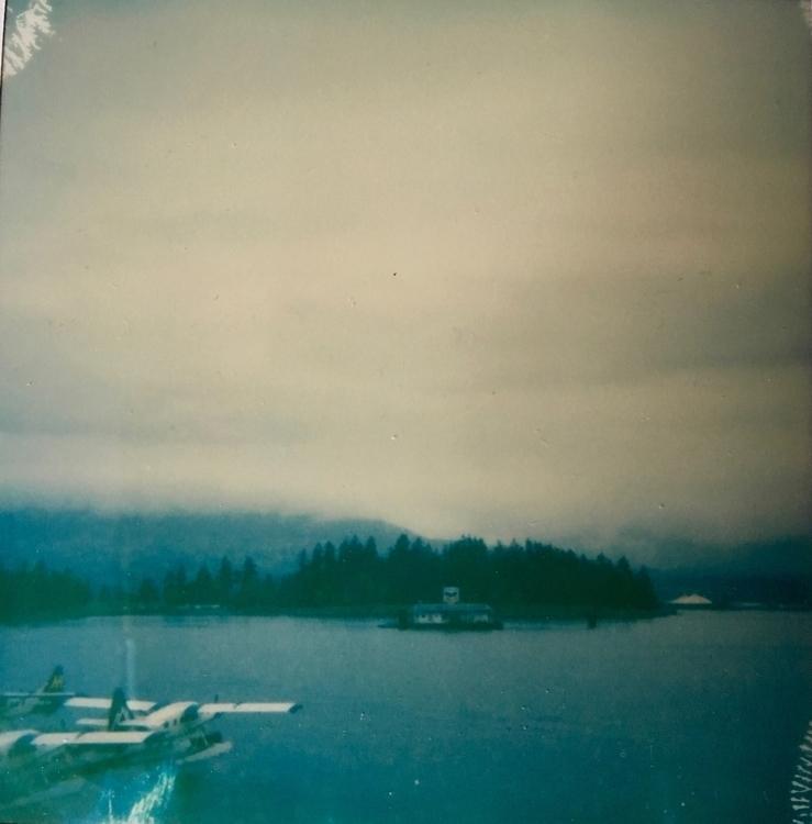 seaplane - polaroid, Vancouver - jkalamarz | ello