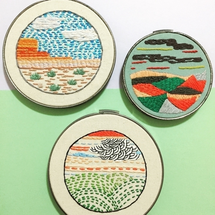 hoop art shop. Click check - embroidery - wrenbirdarts | ello