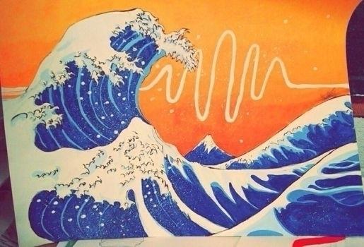 Japanese Wave - amandamuse | ello