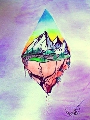 Piece Colorado - watercolor, nature - amandamuse | ello