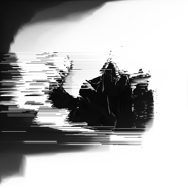 Ghost - glitch, generative, pixelsort - gaalo   ello